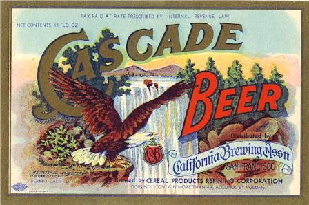 Cascade-beer