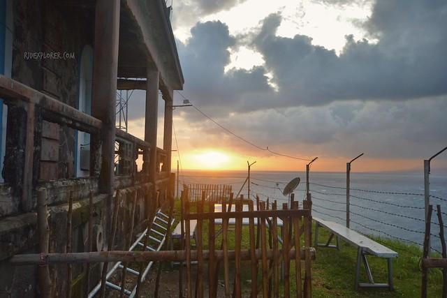 capul island sunset
