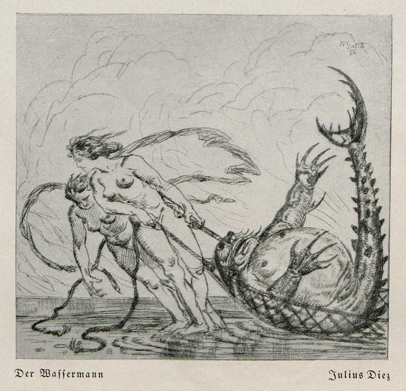 Julius Diez - The Waffermann, 1924jpg