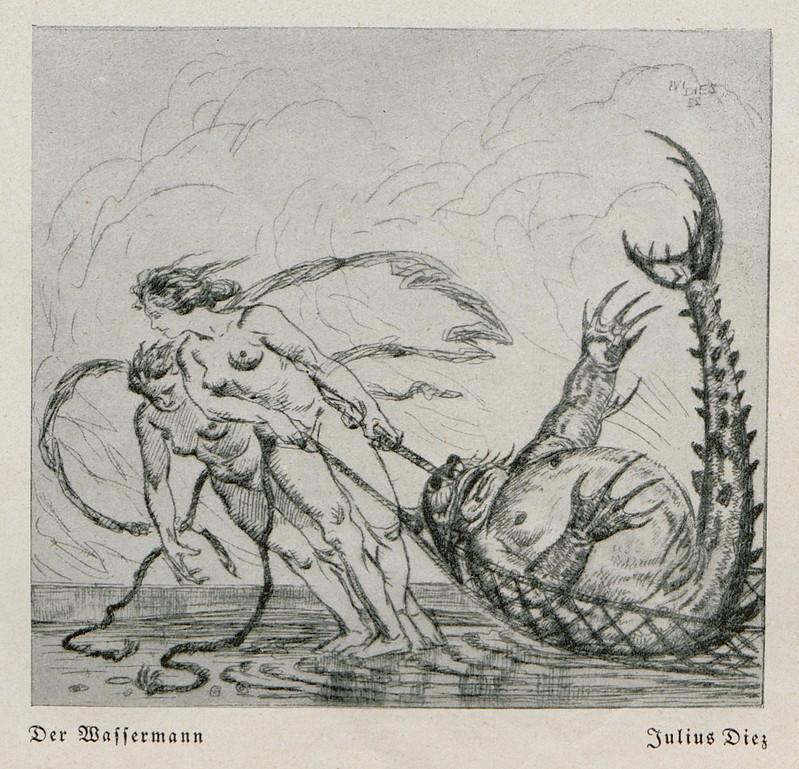 Julius Diez - The Waffermann, 1924jpg