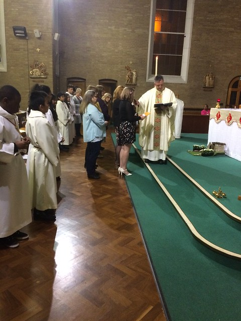 Received Into Full Communion - Easter Vigil 2017
