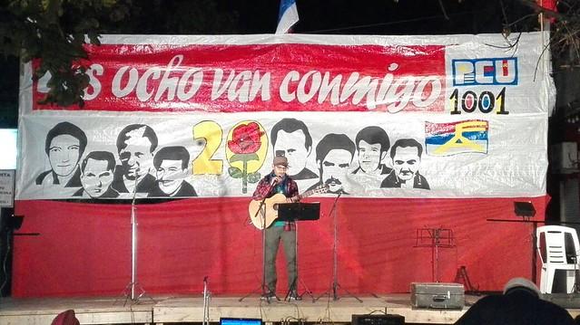 Acto 45 años Mártires de la 20 en Tacuarembó
