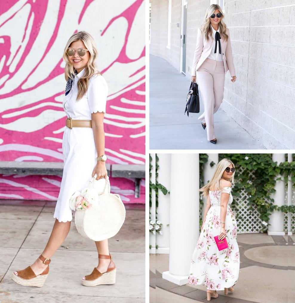 10 Romantic, Feminine Style Fashion Bloggers (Krystin - Suburban Faux Pas)
