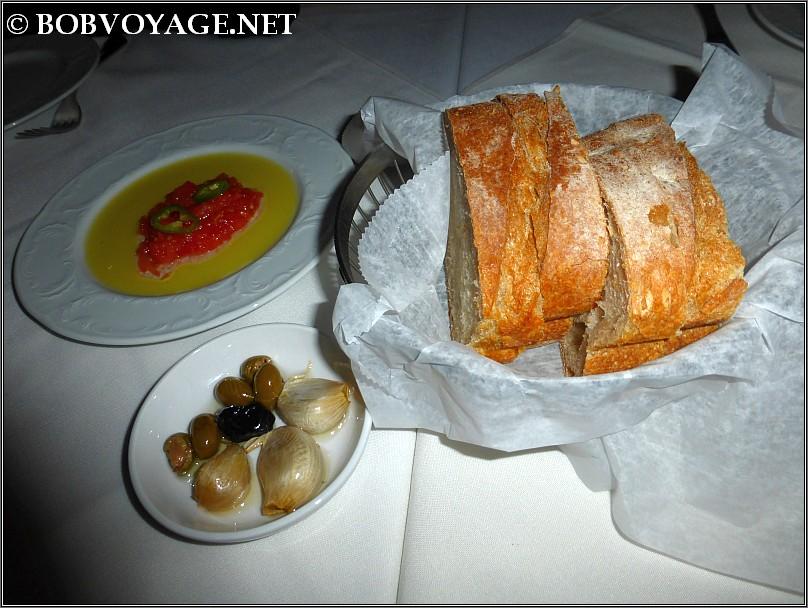 מנת לחם ב- מיכאל ביסטרו מקומי במושב לימן