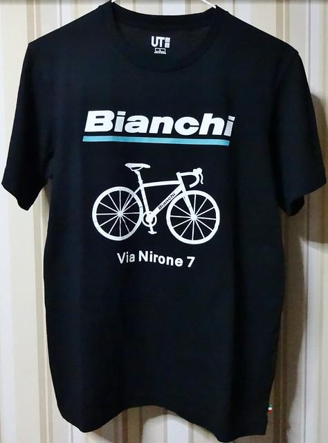 ユニクロ ビアンキTシャツ #3