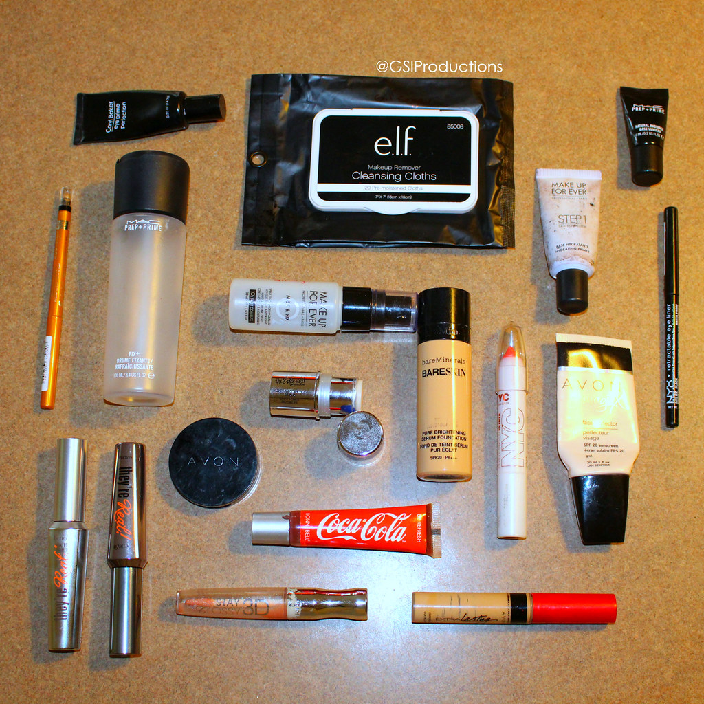 Makeup Empties Spring 2017