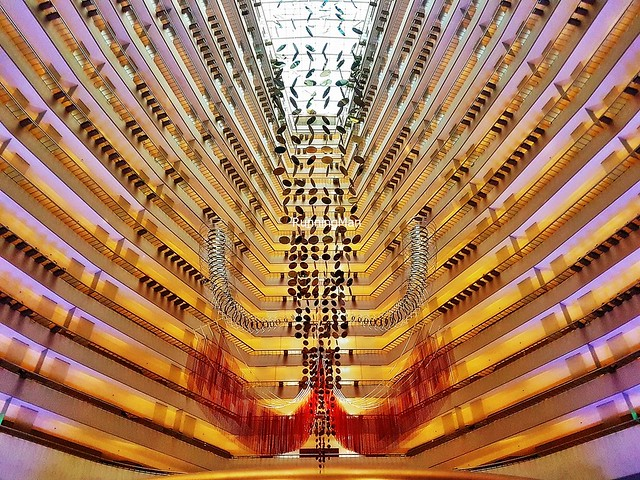 Marina Mandarin Foyer