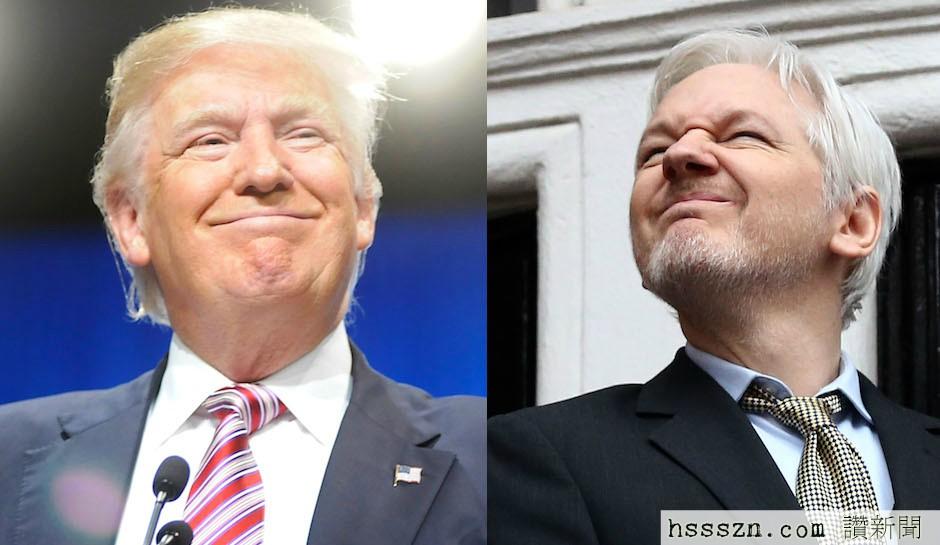 WikiLeaks-Julian-Assange-Trump-Russia-Link