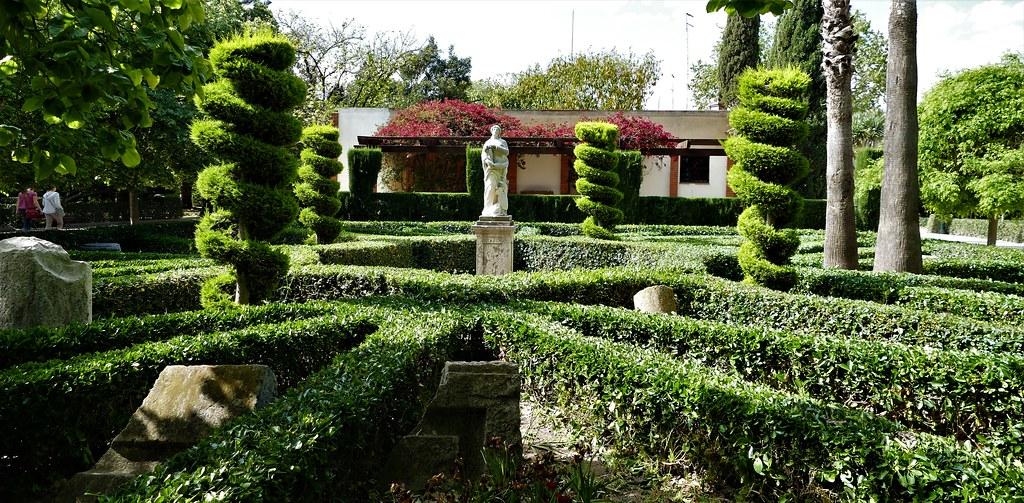 Flora en el jard n de los viveros de valencia obra de for Viveros en segovia