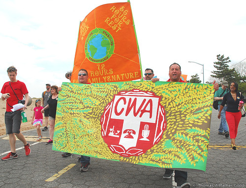 Staten Island Climate March (37) - CWA Contingent