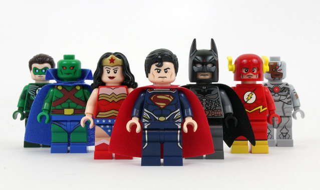 Justice League - LEGO Super Heroes | Flickr - Photo Sharing! Justice League Unlimited Cyborg