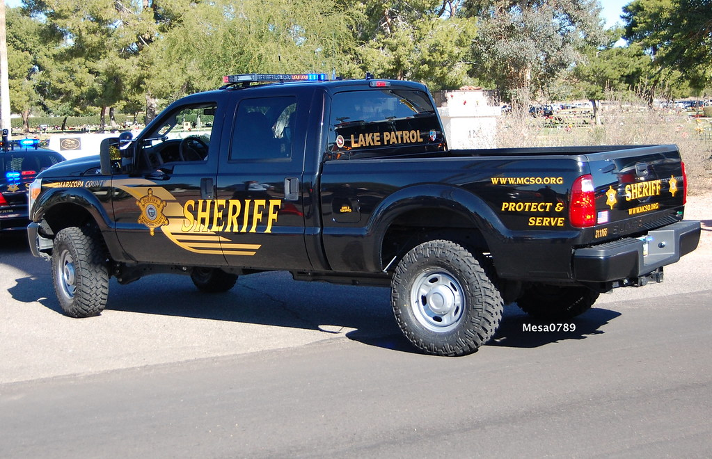 Maricopa County Sheriff, AZ Ford F-250, Lake Patrol | Flickr