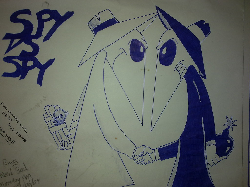Spy Vs Spy Some Doodles That I Have Done When I Am Bored O Flickr
