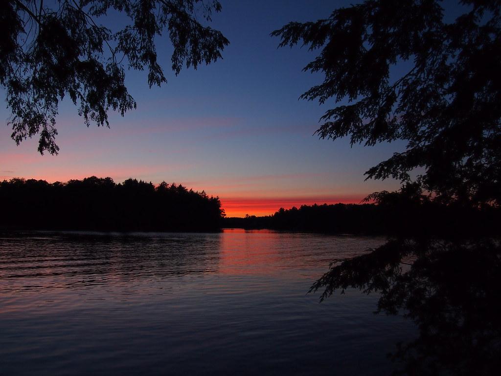 I Am Free Images Oastler Lake sunset | ...