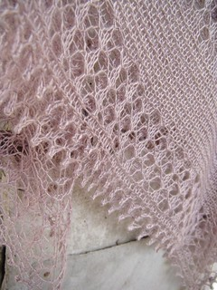 Water Music square knit shawl | by Mam'zelle Flo