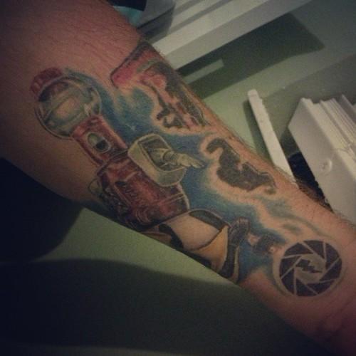 Bottom right corner my lightning photography tattoo i fo for Tom servo tattoo