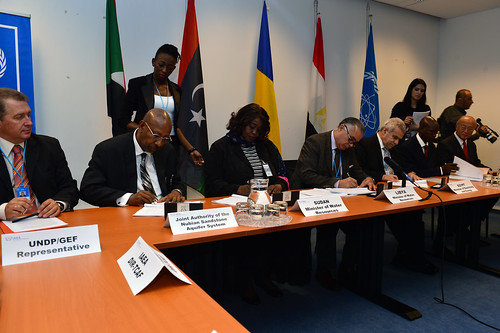 Signing of the Strategic Action Plan (01113660) | by IAEA Imagebank