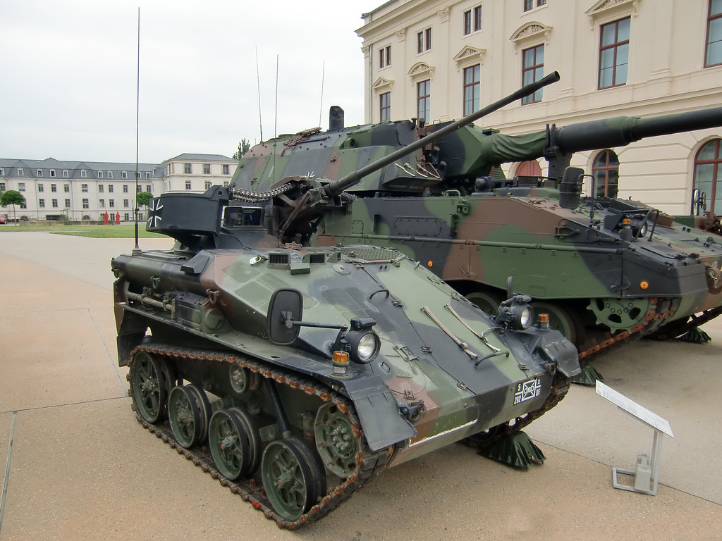 Wiesel 1 Mk 20 Air Transportable Armoured Vehicle Dresd