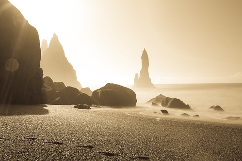 Reynisdrangar Sunrise | by Andrew Rhodes Photography