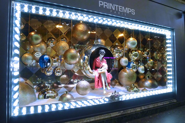 Vitrines de no l 2013 paris les grands magasins galeries flickr photo sharing - Vitrine de noel paris ...