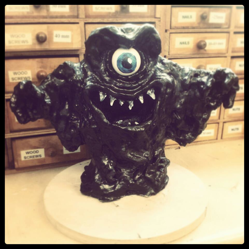 a level 3d design tar monster from scooby doo 2 laura
