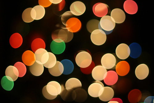Fun with Bokeh: Christmas Tree 2013