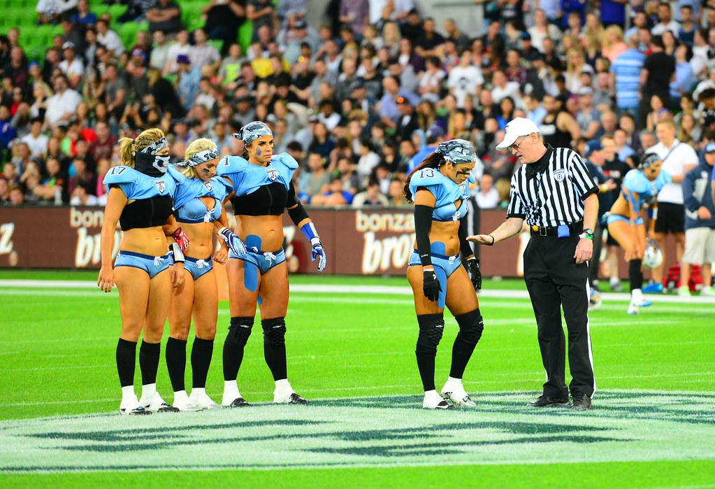 Legends Football League Australia - (Victoria Maidens vs N… | Flickr