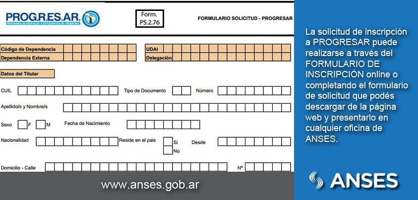 La solicitud de inscripci n a progresar puede realizarse a for Inscripcion oficina de empleo