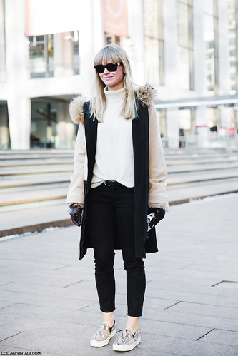 New york fashion week street style fall winter 2015 white flickr Street style ny fashion week fall 2015