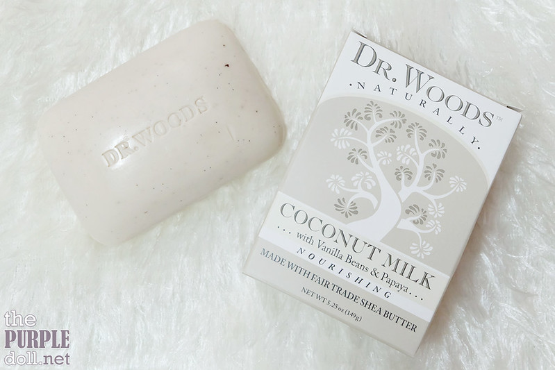 Dr Woods Coconut Milk Soap