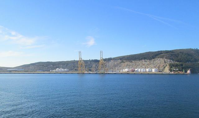 Quarry near Ferrol, Galicia, Spain