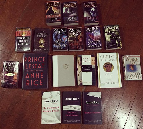 Anne Rice Collection | by dolldalera