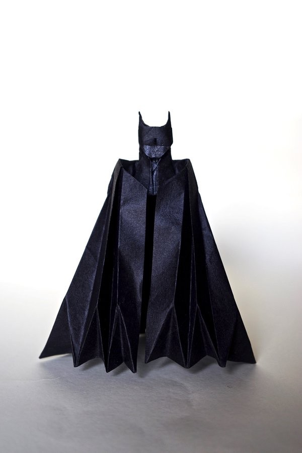 Origami Batman Batman Designed By Ngel Morolln And Folde Flickr