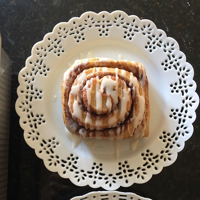 Sunday cinnamon buns.
