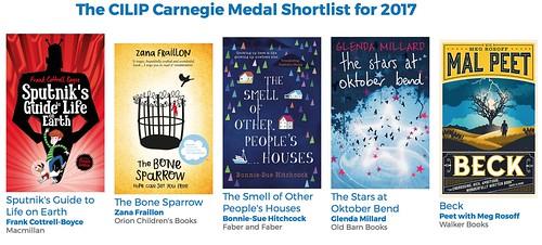 Carnegie shortlist 2017