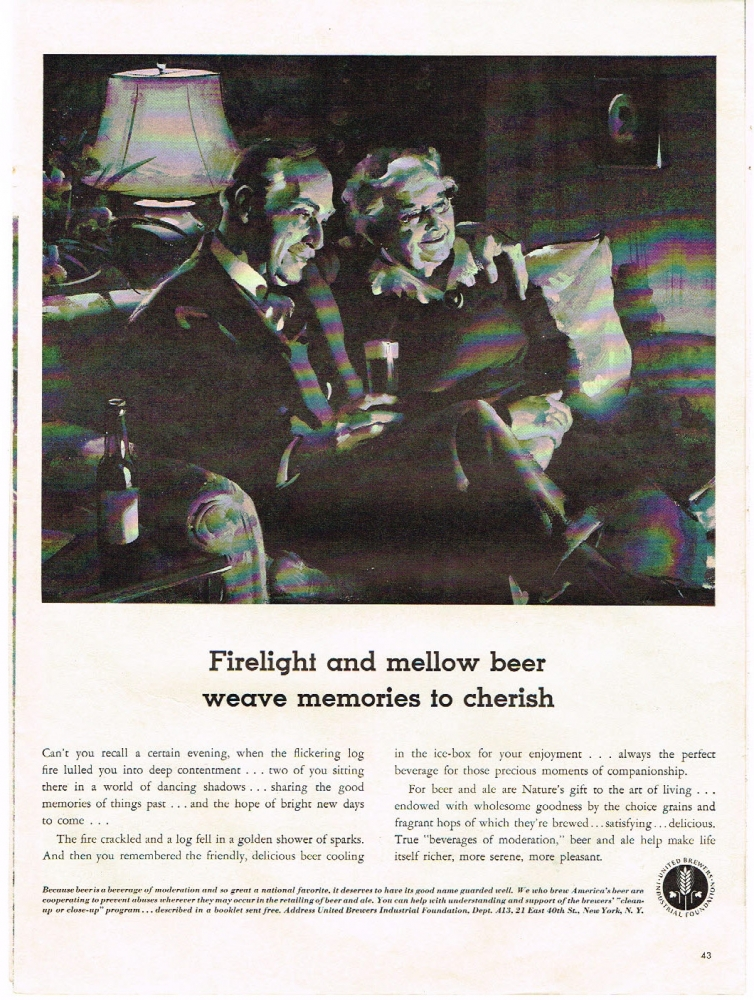 Firelight-and-Mellow-Beer-Paper-Ads-United-Brewers-Industrial-Foundation-1942