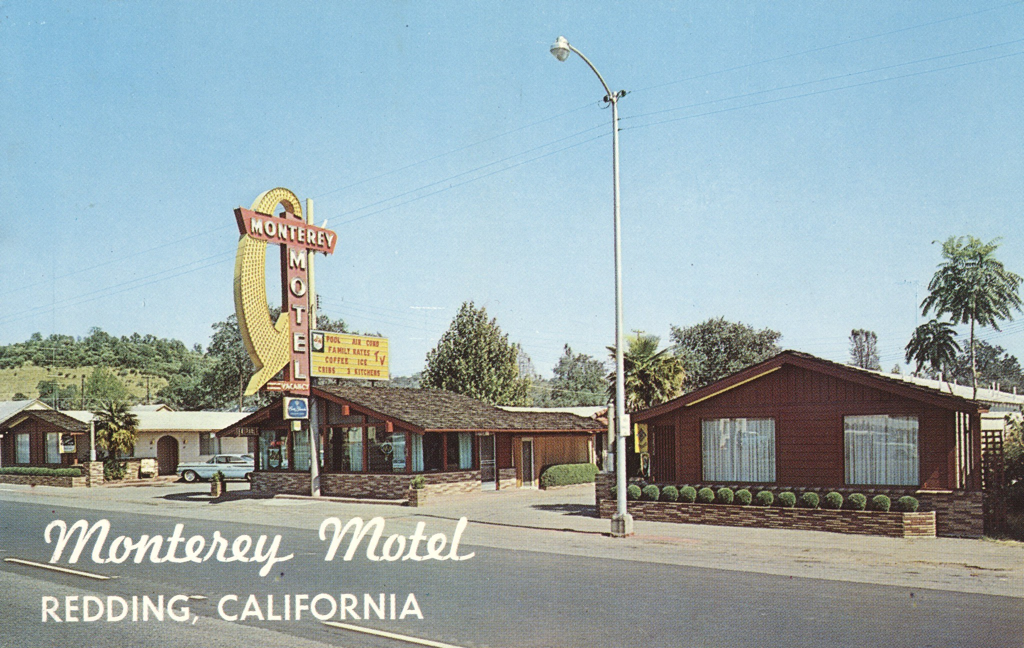Monterey Motel - Redding, California