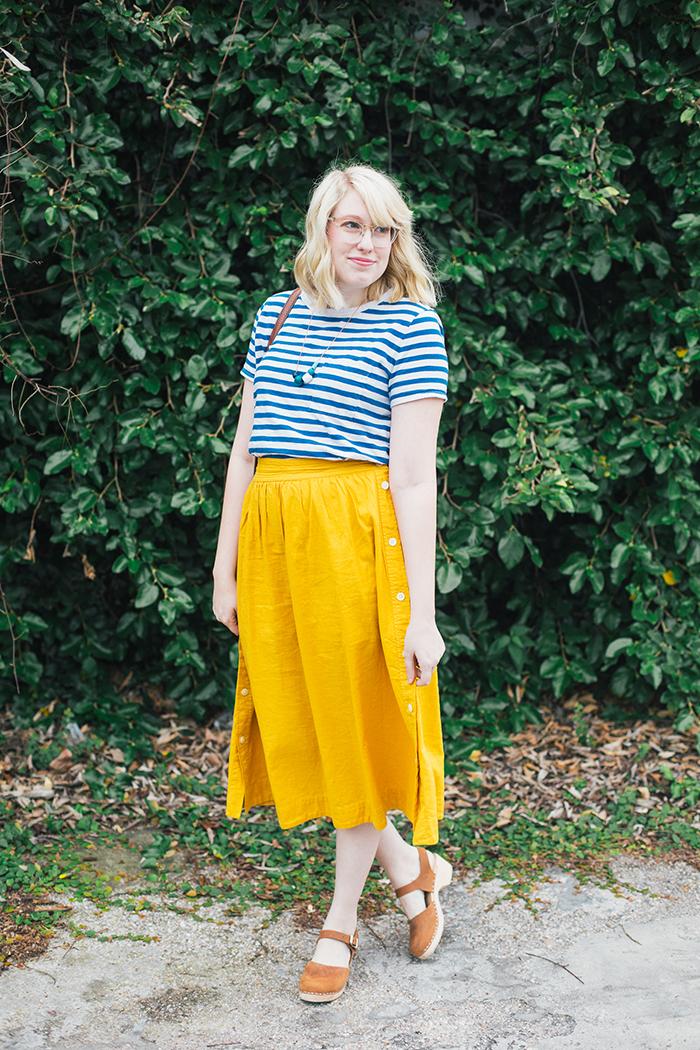 austin style blogger writes like a girl madewell midi skirt13