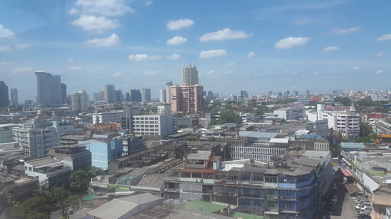View from Centra by Centara Central Station Hotel Bangkok, Thailand