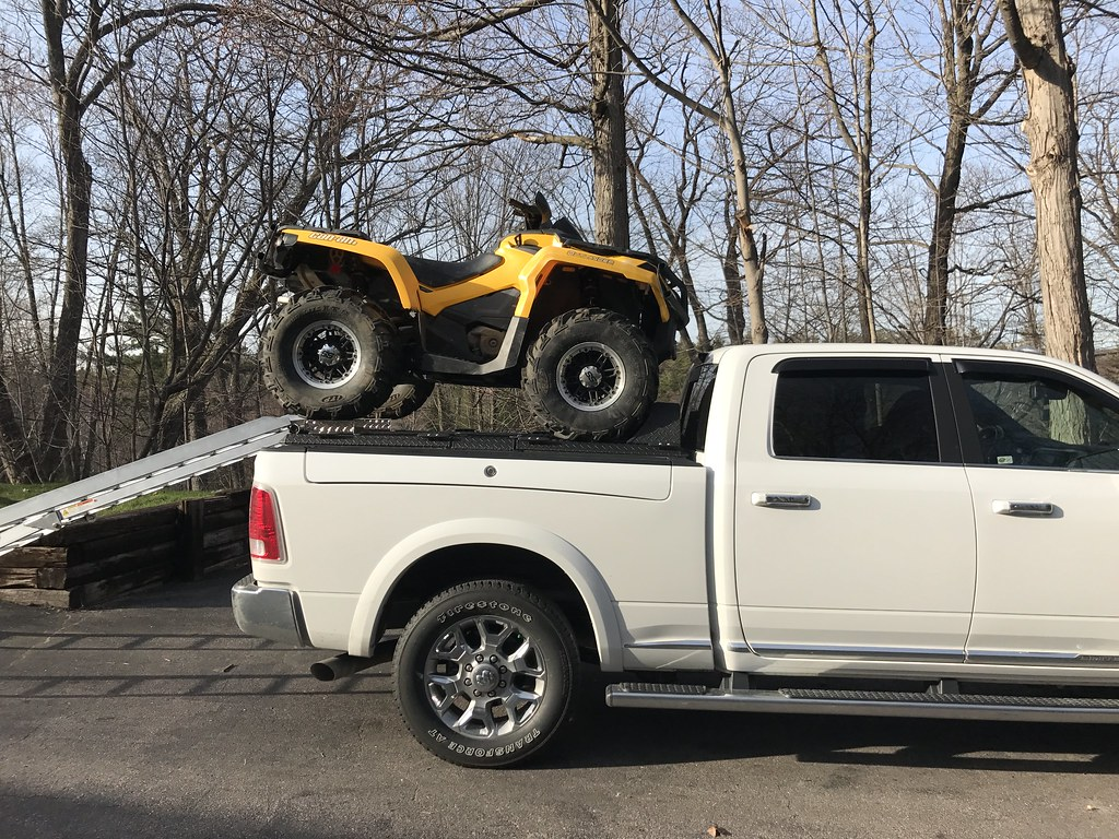 2017 Dodge Ram >> An ATV Carrier On A Dodge Ram Rambox | A DiamondBack ATV Car… | Flickr