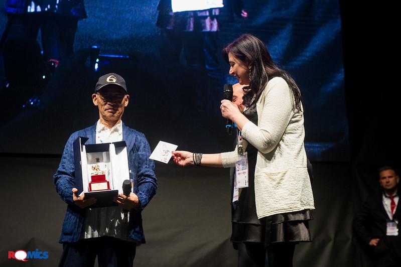 Premiazione Romics  D'Oro Tomino