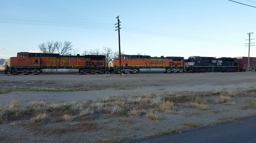 Big BN Tied Down at Fernley