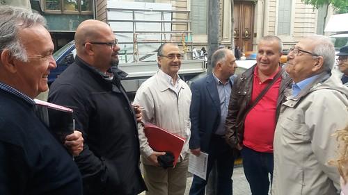 ATP UGT FICA Catalunya protesta por la deriva a la que el Gobierno del PP