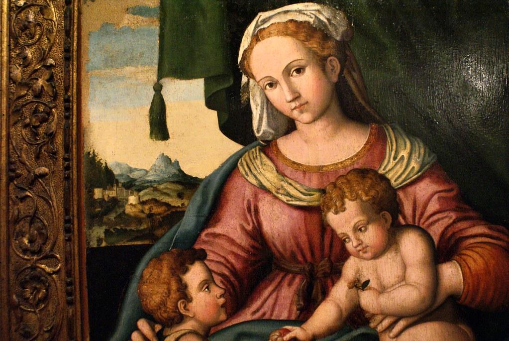Dans le musée Santo Stefano à Bologne.