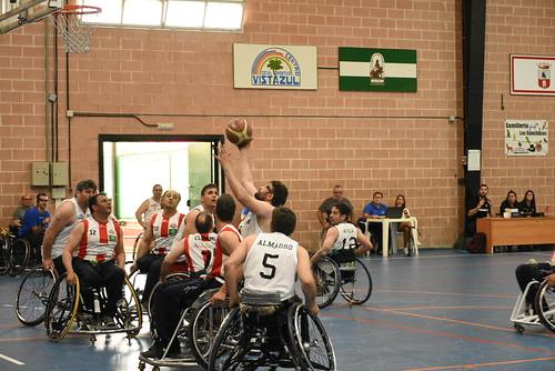 Baloncesto en Silla de Ruedas Vistazul y Cludemi Almería