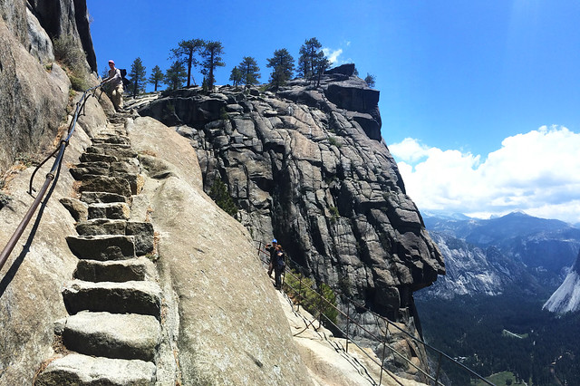 Upper Yosemite Fall Trail, Yosemite National Park, California