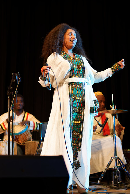Selamnesh Zemene with The Nile Project