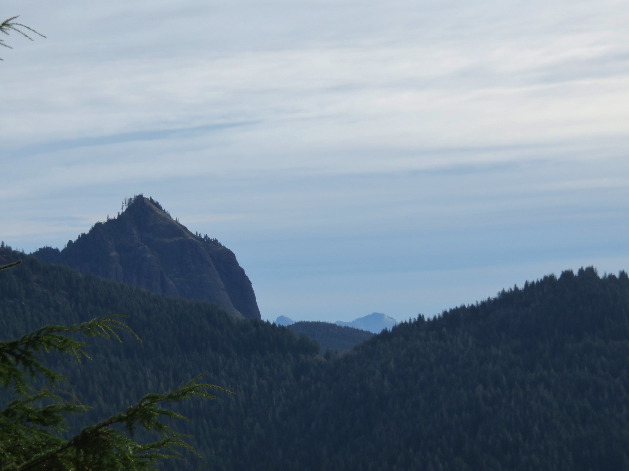 Onion Peak and Saddle Mountain