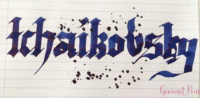 Ink Shot Review Diamine Music Tchaikovsky @AppelboomLaren 6