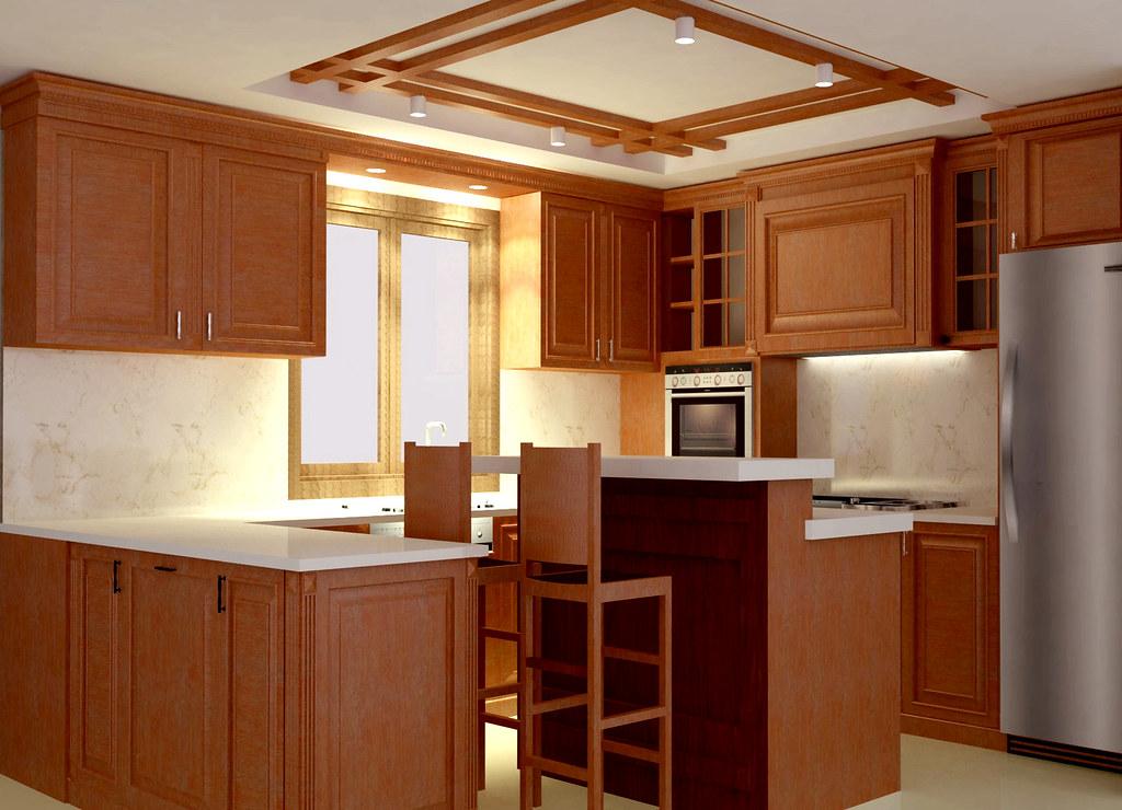 Pantry Model Klasik Desain Interior Kitchen Set Dan Pantry Flickr